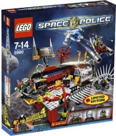 LEGO Space Police - Alien Werkstatt (5980)