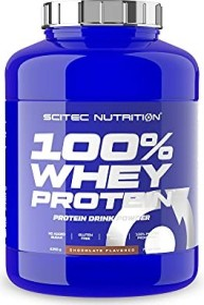 Scitec Nutrition 100% Whey Protein vanilla 2.35kg