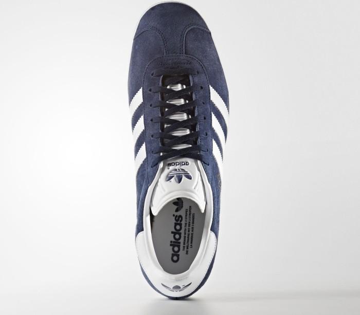 new style 0b8c8 3ae05 adidas Gazelle collegiate navywhiteice blue (Herren) (BB5478)