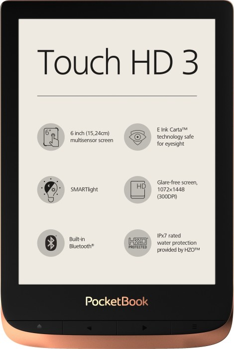 PocketBook Touch HD 3, spicy copper (PB632-K-WW)
