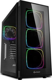 Sharkoon TG6 RGB, Glasfenster