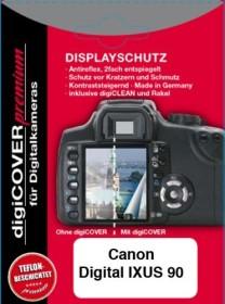 S&M Rehberg Digi-Cover LCD-Schutzfolie für Canon Ixus (verschiedene Modelle)