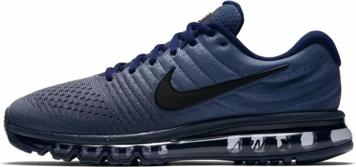 newest 39ae3 4257b Nike Air Max 2017 binary blue/obsidian/black | Preisvergleich ...