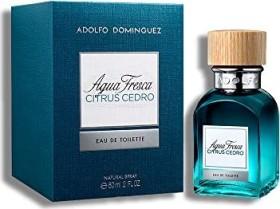 Adolfo Dominguez Agua Fresca Citrus Cedro Eau de Toilette, 60ml