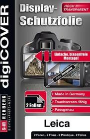 S&M Rehberg Digi-Cover LCD-Schutzfolie für Nikon Coolpix (verschiedene Modelle)