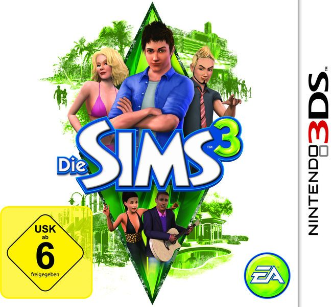 The Sims 3 (German) (3DS)