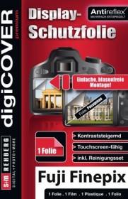 S&M Rehberg Digi-Cover LCD-Schutzfolie für Fujifilm (verschiedene Modelle)