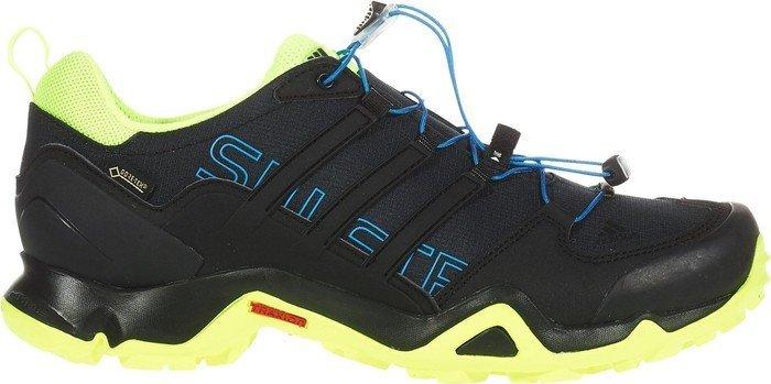 b5d344adf adidas Terrex Swift R GTX core black shock blue solar yellow (men ...