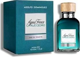 Adolfo Dominguez Agua Fresca Citrus Cedro Eau de Toilette, 230ml