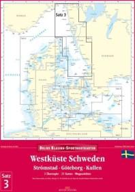 Delius Klasing Sportbootkarten Satz 03: Westküste Schweden - Ausgabe 2014 (deutsch) (PC)