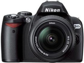 Nikon D40x schwarz mit Objektiv AF-S DX 18-55mm 3.5-5.6G ED II (VBA170K001)