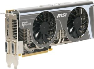 MSI R6870 Twin Frozr II/OC, Radeon HD 6870, 1GB GDDR5, 2x DVI, HDMI, 2x Mini DisplayPort