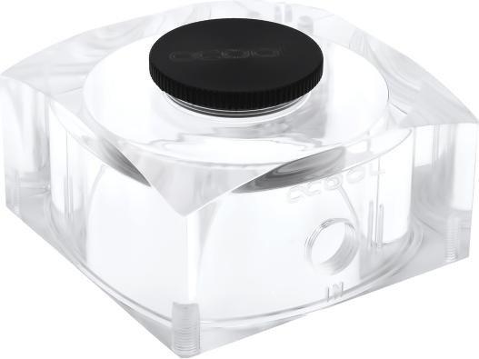 Alphacool Eisdecke DDC/D5 Ausgleichsbehälter, Plexiglas (13187)