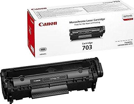 Canon Toner 703BK schwarz (7616A005) -- via Amazon Partnerprogramm