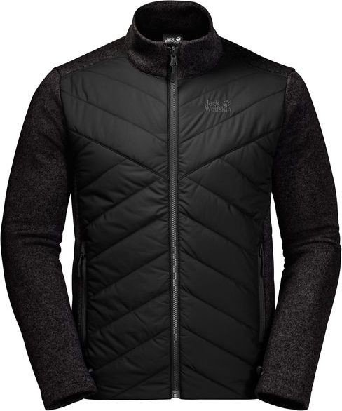 Jack Wolfskin Caribou Crossing Track Jacket black (men) (1706891-6000)