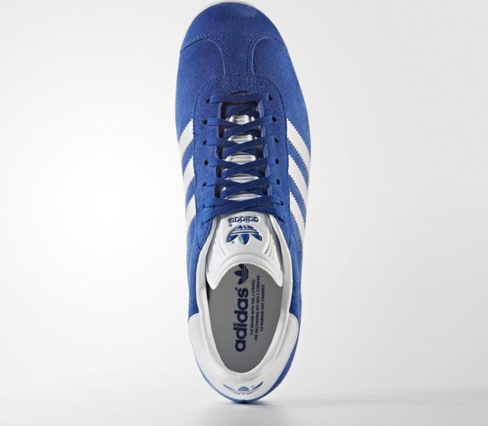 best sneakers 4502b 6efc0 adidas Gazelle collegiate royal white gold met (Herren) (S76227)