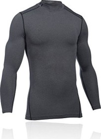 Under Armour ColdGear Armour Kompressionsshirt langarm carbon heather (Herren) (1265648-090)