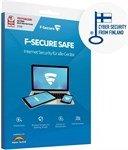 F-Secure Safe, 5 User, 1 year (multilingual) (Multi-Device) (FCFXBR1N005F1)
