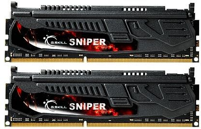 G.Skill Sniper DIMM Kit 8GB, DDR3-1866, CL9-10-9-28 (F3-14900CL9D-8GBSR)