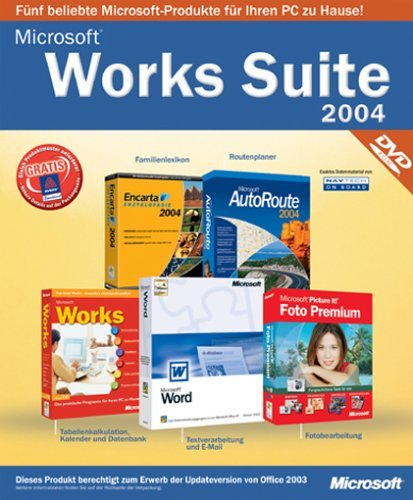 Microsoft: Works Suite 2004 CD Update (PC) (B11-00872) -- via Amazon Partnerprogramm