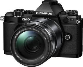 Olympus OM-D E-M5 Mark II schwarz mit Objektiv M.Zuiko digital ED 14-150mm (V207043BE000)