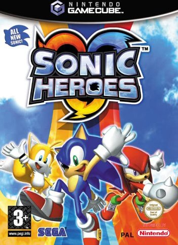 Sonic Heroes (niemiecki) (GC) -- via Amazon Partnerprogramm