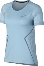 Nike Dri-FIT Miler Laufshirt kurzarm ocean bliss/noise aqua (Damen) (890349-452)
