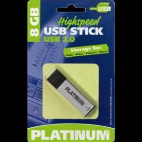 BestMedia Platinum ALU 8GB, USB-A 2.0 (177506/177556)