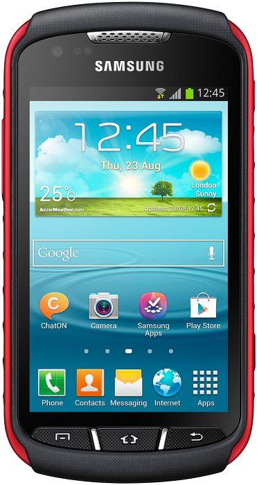 Samsung Galaxy Xcover 2 S7710 schwarz/rot