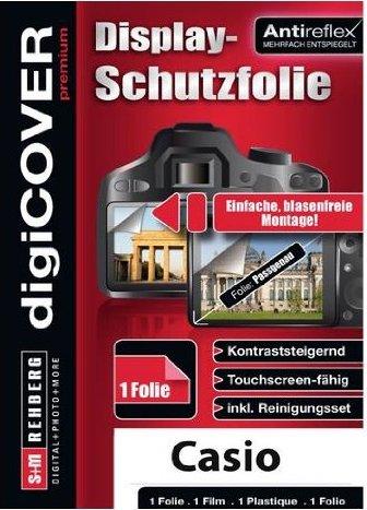 S&M Rehberg Digi-Cover LCD-Schutzfolie für Casio (verschiedene Modelle) -- via Amazon Partnerprogramm