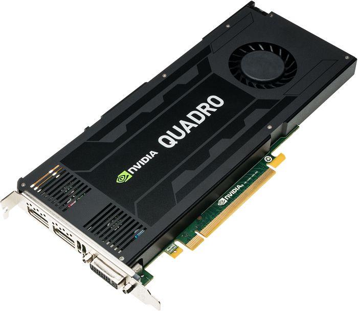PNY Quadro K4200, 4GB GDDR5, DVI, 2x DP (VCQK4200-PB)