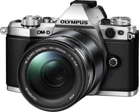Olympus OM-D E-M5 Mark II silber mit Objektiv M.Zuiko digital ED 14-150mm (V207043SE000)