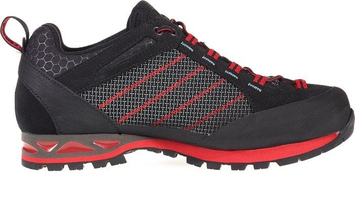 Hanwag Makra Low Lady GTX Alpinschuhe (asphalt/dark-garnet) UK 7.5