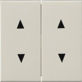 Gira System 55 Wippe 2fach, cremeweiß glänzend (1150 01)