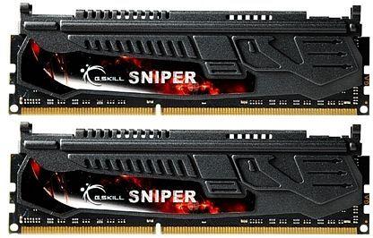 G.Skill Sniper DIMM Kit 8GB, DDR3-1600, CL9-9-9-24 (F3-12800CL9D-8GBSR)