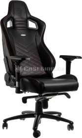 noblechairs Epic Gamingstuhl, schwarz/rot (NBL-PU-RED-002)