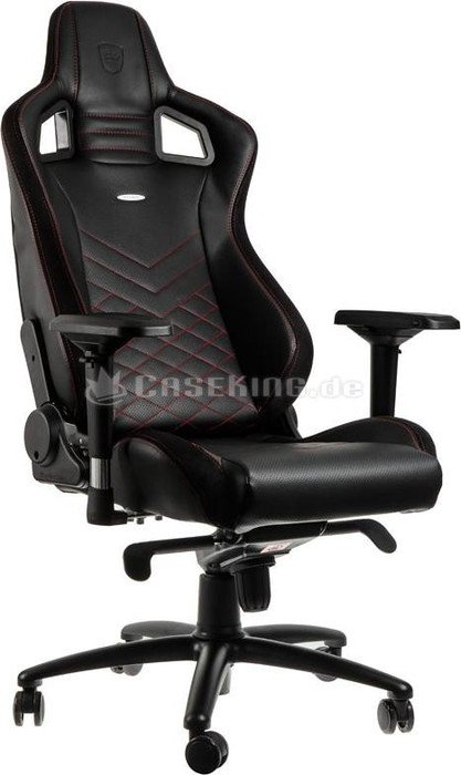 noblechairs Epic Gamingstuhl, schwarzrot (NBL PU RED 002) ab </p>                     </div> 					<!--bof Product URL --> 										<!--eof Product URL --> 					<!--bof Quantity Discounts table --> 											<!--eof Quantity Discounts table --> 				</div> 			</dd> 						<dt class=