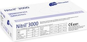 Meditrade Nitril 3000 Disposable Gloves M, 100 pieces (1280M)