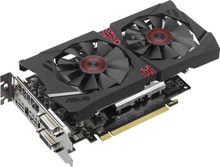ASUS Strix Radeon R7 370, STRIX-R7370-DC2OC-4GD5-GAMING, 4GB GDDR5, 2x DVI, HDMI, DP (90YV0850-M0NA00)