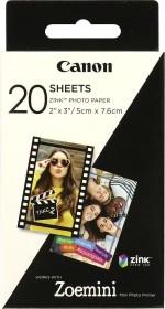 "Canon ZINK ZP-2030 2x3"" Photo Paper, 20 Blatt (3214C002)"
