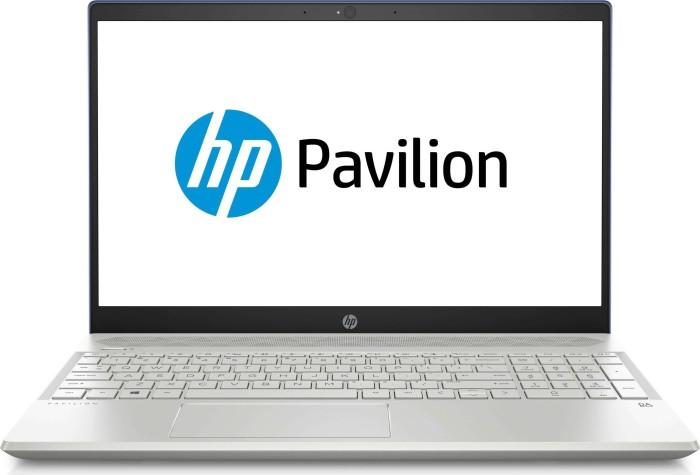 HP Pavilion 15-cs0408ng Sapphire Blue/Natural Silver (5ER77EA#ABD)