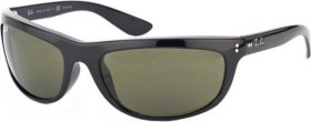 Ray-Ban RB4089 Balorama 62mm black/green classic (RB4089-601/31)