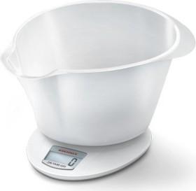 Soehnle Roma Plus white electronic mixingbowl scale (65857)