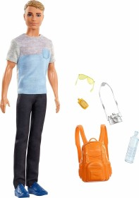 Mattel Barbie Travel Ken Doll (FWV15)