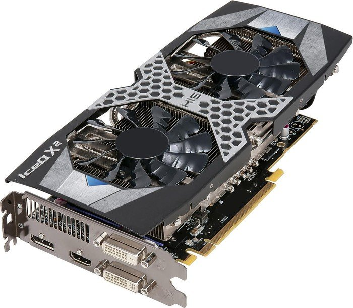 HIS Radeon R9 380 IceQ X² OC, 4GB GDDR5, 2x DVI, HDMI, DisplayPort (H380QM4GD)