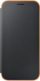 Samsung Neon Flip Cover for Galaxy A5 (2017) black (EF-FA520PBEGWW)