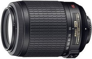 Nikon lens AF-S VR DX 55-200mm 4.0-5.6G IF-ED (JAA798DA)