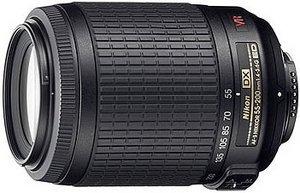 Nikon AF-S DX 55-200mm 4.0-5.6G IF-ED VR schwarz (JAA798DA)