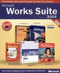 Microsoft: Works Suite 2004 DVD Update (PC)