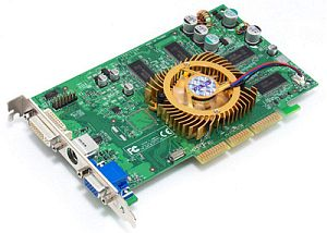 ASUS AGP-V9520/TD, GeForce 5200, 256MB DDR, DVI, TV-out, AGP